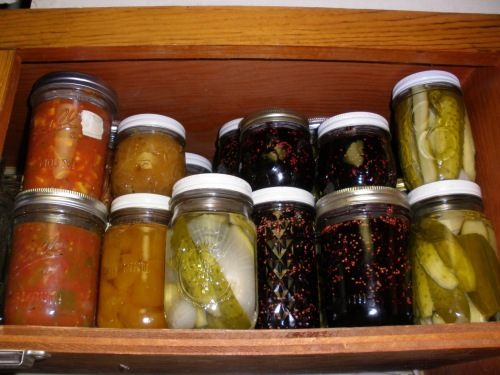 jams, sauces and pickles