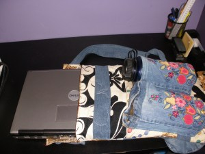 Homemade Laptop Backpack